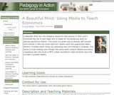 A Beautiful Mind: Using Media to Teach Economics