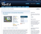An Introduction to Ensemble Streamflow Prediction