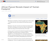 African Flyover Reveals Impact of Human Footprint