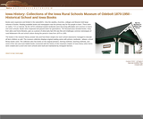 Collections of the Iowa Rural Schools Museum of Odebolt 1870-1950 - Historical School Documents and Iowa Books