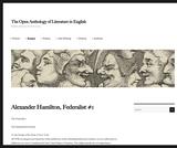 The Federalist 1