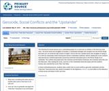 "Cambodia: Genocide, Social Conflicts and the ""Upstander"""