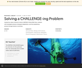 Solving a CHALLENGE-ing Problem