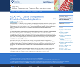 GIS for Transportation: Principles, Data, and Applications