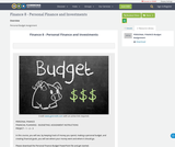 Finance 8 - Personal Finance and Investments