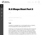 Shape Hunt Part 2