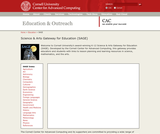 Science & Arts Gateway for Education (SAGE)
