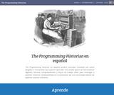 The Programming Historian en español