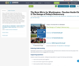The State We're In: Washington - Teacher Guide Ch. 2: The Design of Today's Democracy