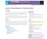 CS Principles 2019-2020 4.4: Rapid Research - Data Innovations