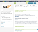 Digital Age Skill: Language Arts - What Makes a Hero