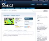 Sea Level Change: Basics
