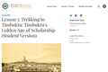 Lesson 5: Trekking to Timbuktu: Timbuktu's Golden Age of Scholarship (Student Version)
