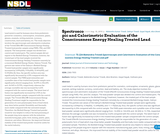 Spectroscopic and Calorimetric Evaluation of the Consciousness Energy Healing Treated Lead