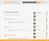 Creating Asteroids
