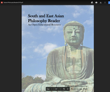 Eastern Philosophy Reader: An Open Educational Resource