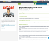 Advanced Aerobic Training: 30 minute Cardiovascular Circuit