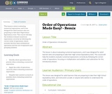Order of Operations Made Easy! - Remix