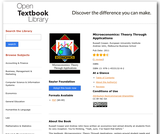 Microeconomics: Theory Through Applications