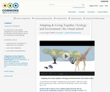 Adapting & Living Together | Ecology and Environment | the virtual school