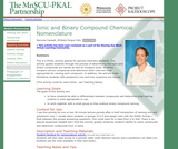 Ionic and Binary Compound Chemical Nomenclature