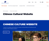 Chinese Cultural Website