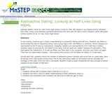 Radioactive Dating: Looking at Half-Lives Using M&Ms