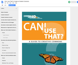 Can I Use That? A Guide to Creative Commons
