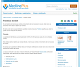 Bell's Palsy (Spanish)