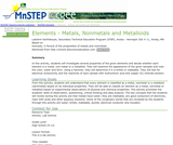 Elements - Metals, Nonmetals and Metalloids