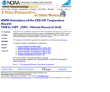 WWW Animations of the Climate Research Unit-UK Temperature Record: 1856 to 1997