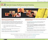 Spanish Proficiency Training Website
