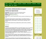 Botaanika konspekt gümnaasiumile