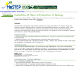 Collection of Place Introduction to Biology