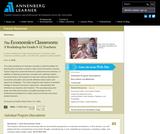 The Economics Classroom: A Workshop for Grade 9-12 Teachers