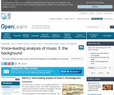 Voice-Leading Analysis of Music 3: the Background