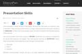 Presentation Skills - EklavyaParv