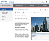 Building a Skyscraper of Newspapers