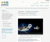Adaptation - Vampirism   Ecology & Environment   the virtual school