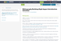 Bibliography Building High-Impact Introduction Activities