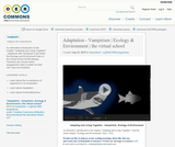 Adaptation - Vampirism | Ecology & Environment | the virtual school