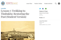 Lesson 7: Trekking to Timbuktu: Restoring the Past (Student Version)
