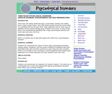 Major Psychological Disorders (Bipolar Disorder, Schizophrenia, Multiple Personalities)