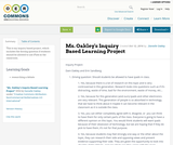 Ms. Oakley's Inquiry Based Learning Project
