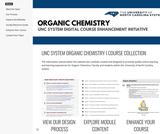 HomeUNC System Organic Chemistry Digital Course