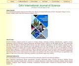 DAV International Journal of Science