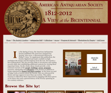 American Antiquarian Society, 1812-2012: A View at the Bicentennial