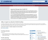 1869: A Report on Schools in North Carolina