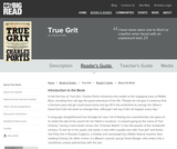 True Grit by Charles Portis - Reader's Guide