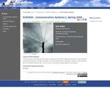 Communication Systems I